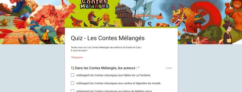 QUIZ des Contes Mélangés
